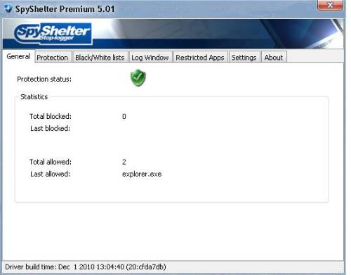 ABC 25: Spyshelter Anti keylogger Review and License Giveaway 1