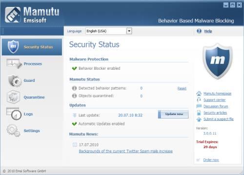 ABC 10: Mamutu, Anti-Malware license key Giveaway 1