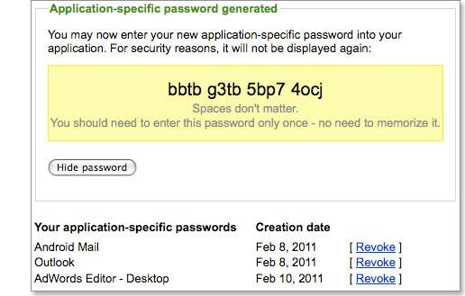 Enable Advanced sign-in security for your Google account 7