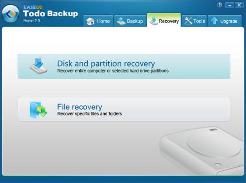 Review: EASEUS Todo Backup Home to backup files, drives or partitions 5