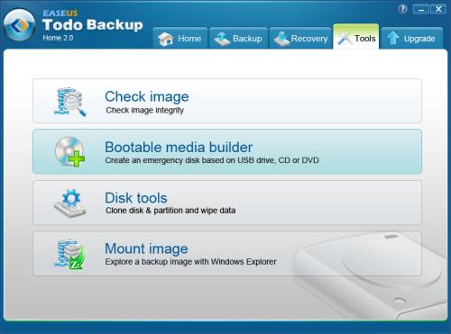 Review: EASEUS Todo Backup Home to backup files, drives or partitions 6