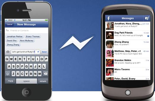 Catch friends on iPhone, iPad, iPod touch, Android with Facebook Messenger 1