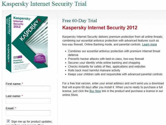 Free Kaspersky Download