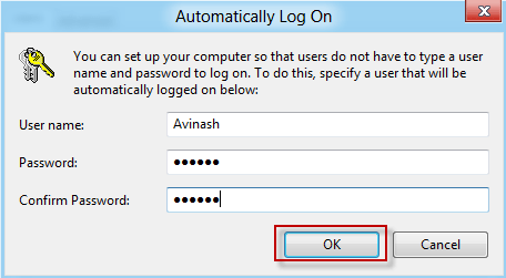 How to enable Automatic login to Windows 8 [Tutorial] 3