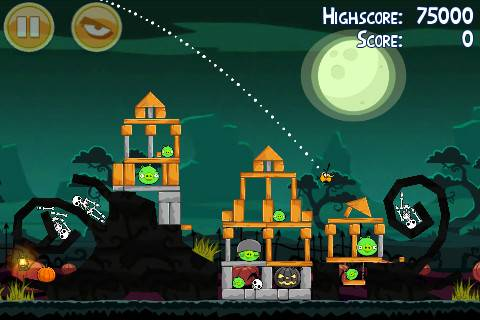 Angry Birds seasons Ham'o'ween for Halloween now available 2