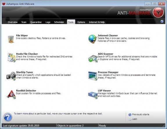Ashampoo Anti-Malware 10 License Giveaway 3