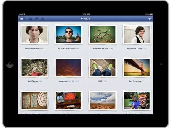Facebook launches Facebook for iPad App finally 1