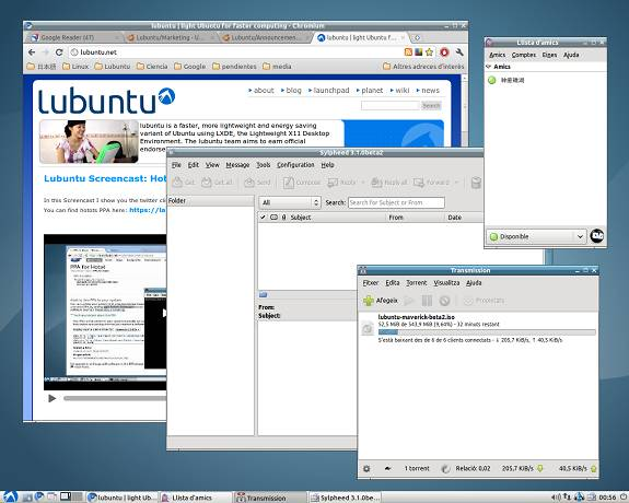 Lubuntu internet