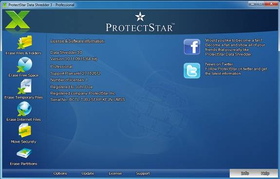 Protect Star Interface