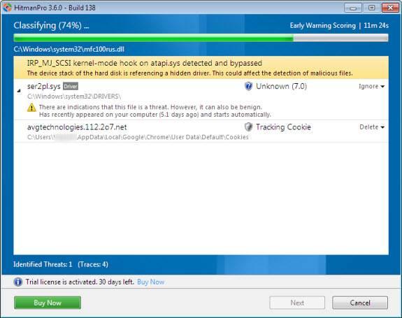 hitman21 - HitmanPro, On-Demand Multi-Antivirus Cloud Scanner [Giveaway]