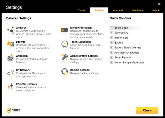 Review: Norton 360 ver 6- All in one Antivirus, Antispyware, Tuneup & Backup Solution 5