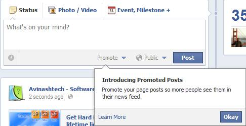 Facebook introduces Promoted Page Posts 2