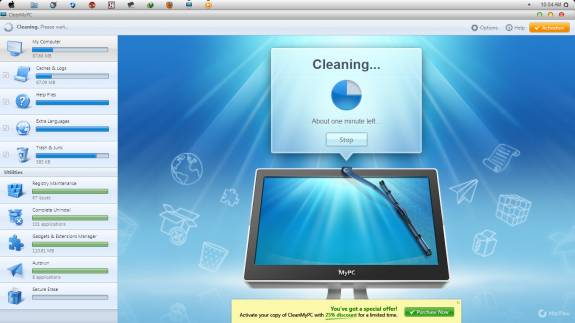 CleanMyPC Cleaning - CleanMyPC - Review and License key Giveaway