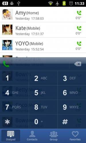 """Go Contacts - Replace Android Contacts, Dialer with """"Go Contacts"""""""