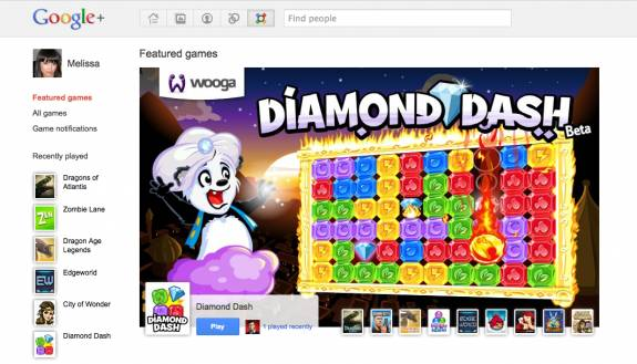 Google+ games - Google+ Games gets LIve and being rolled out to everyone slowly