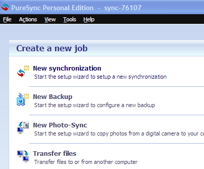 PureSync: Synchronize, Backup files and folders over FTP/ Computers