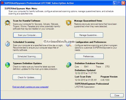 SAS interface 480x382 - ABC 20: SUPERAntiSpyware license Review and Giveaway