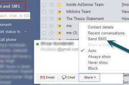 SMS in Gmail - Send free SMS, Text Messages with Gmail Chat