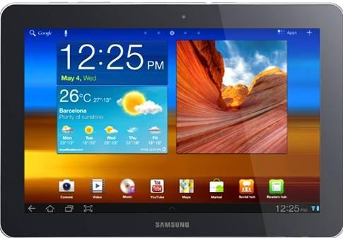 Samsung Galaxy Tab - Samsung Galaxy Tab 10.1 launch in India as Galaxy Tab 750 [Webcast]