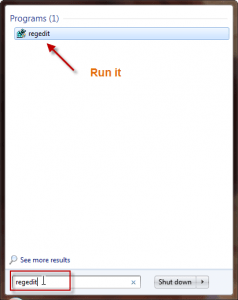 How to speed up shutdown time in windows 7