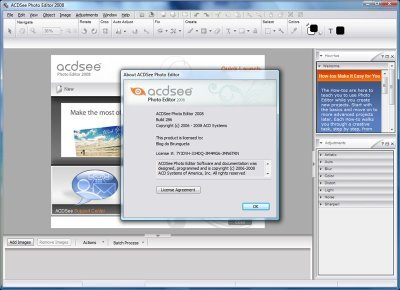 Download ACDSee Photo Editor 2008 – Full Version for FREE
