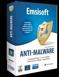 box - Emsisoft Anti-Malware Review and 25 License Keys Giveaway