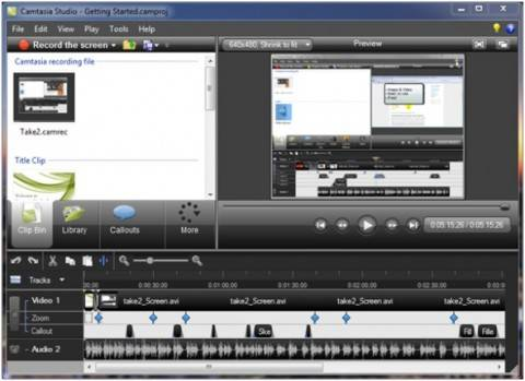 ABC 6: Camtasia, Screen Recording software Review and Giveaway