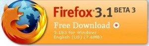 With Firefox 3.1beta 3, Mozilla bumps up Firefox 3.1 to 3.5 2