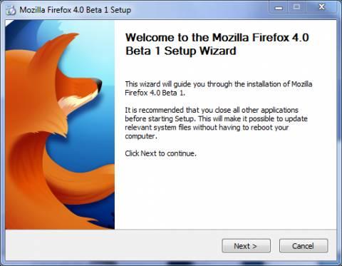 Firefox 4 Beta 1 out: A sneak Preview