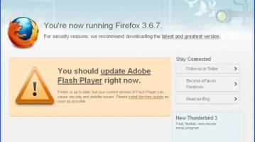 Fake Firefox/Flash Update used by Rough Antivirus 3