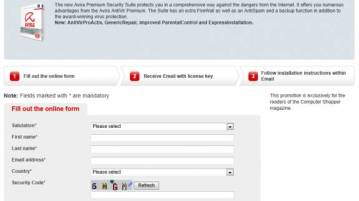 free Avira security license key - Grab Avira Security Suite free for 180 days