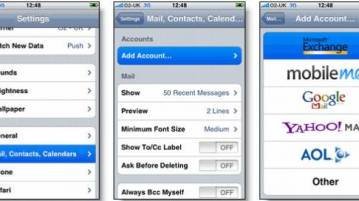 Import Gmail contacts to Iphone and iPad 4