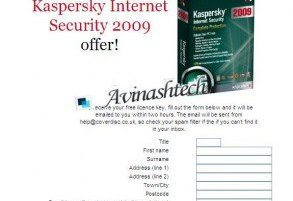 Download 100 Days Free Genuine License Key for Kaspersky Internet Security 2009 8