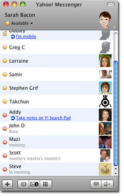 Yahoo messenger for Mac 3.0 Beta 4 now available