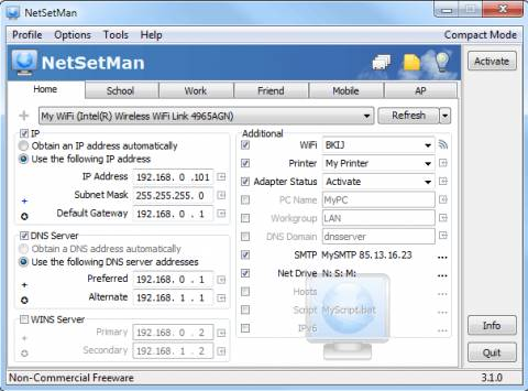 netsetman1 480x355 - NetSetMan: Quickly Switch between pre-configured network settings