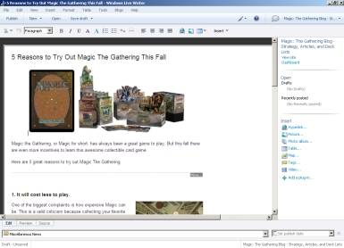 Blogging Made Simple: Putting Windows Live Writer to the Test
