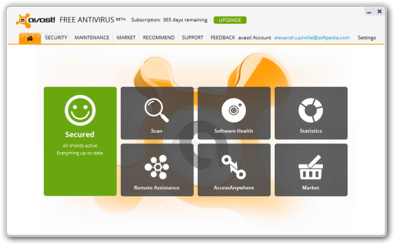 Avast Home Edition Beta 8 e1359743371711 - Avast 8 public beta released, brings a new UI and some new features