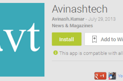 Android App for Avinashtech is here, Download it 3