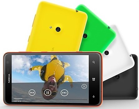 Lumia 625 movies- back cover