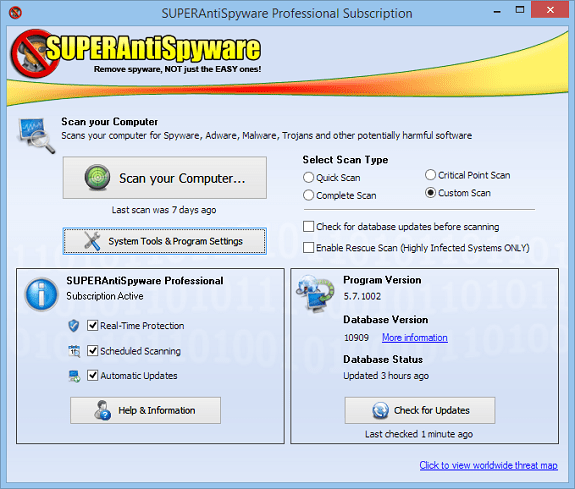 SUPERAntiSpyware Professional 10 License keys Giveaway