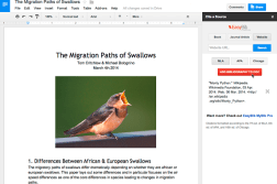 Add-on store for Google Docs' spreadsheet and word processor apps launched 10