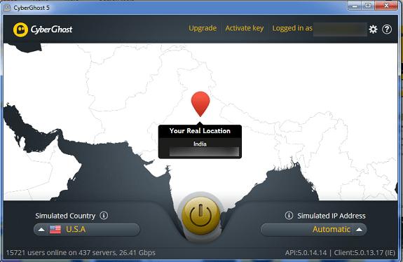 Grab CyberGhost VPN 1 year Premium account for FREE (5,000 keys)