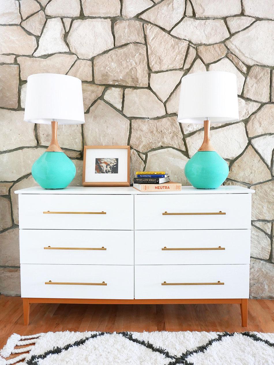 Mid Century Modern Dresser Diy From Ikea Hack