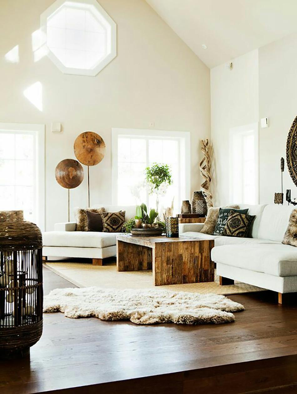 Modern Boho Interiors - Colorful, Layered and Modern Spaces on Boho Modern Decor  id=85483