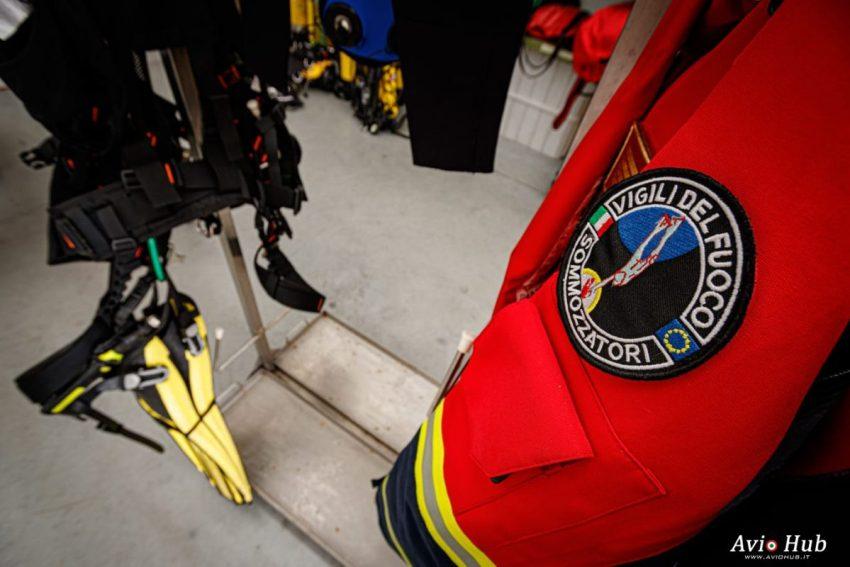 Sommozzatori e SAF Vigili del fuoco Soccorso
