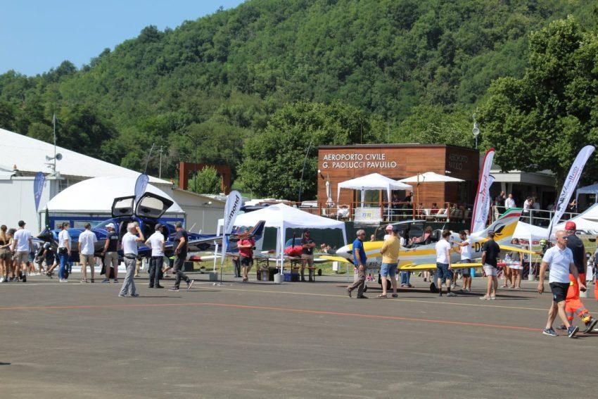 Aeroporto di Pavullo durante il VFR e FUN