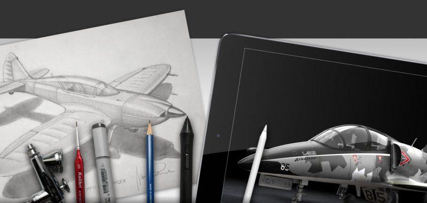 Tool aircraft studio design