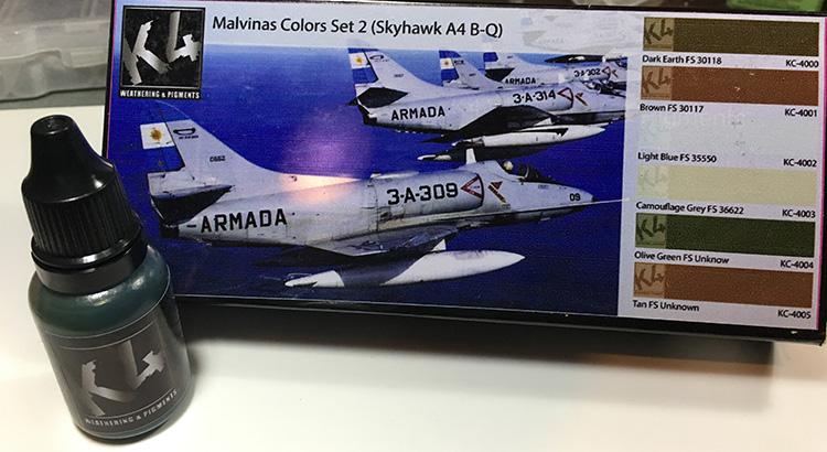 Review K4 - Set de Colores Malvinas