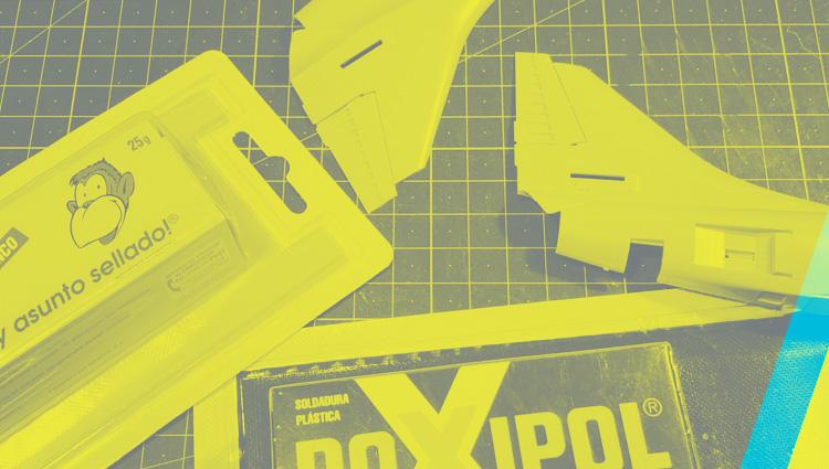 Cómo copiar piezas con Poxipol?