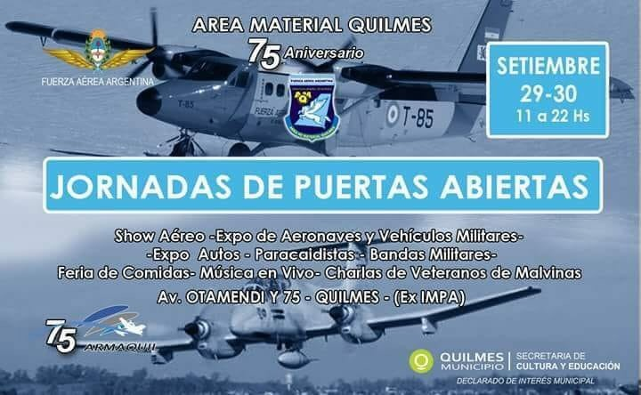 Jornada Puertas Abiertas Fuerza Aerea Argentina